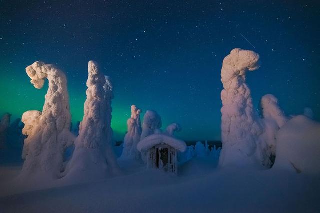 Những cột băng huyền bí - Phần Lan.