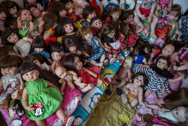 Căn phòng đầy búp bê của Mama Ning