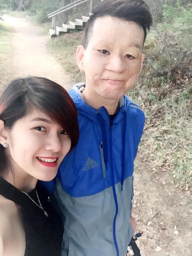 Thu Hiền luôn cảm thấy hạnh phúc vì được ở bên người mình yêu thương
