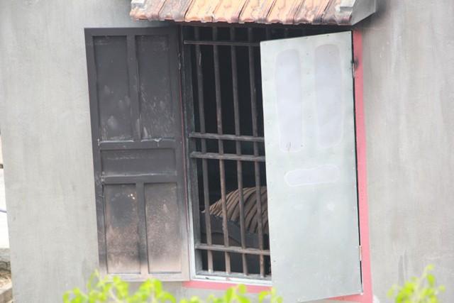 Căn phòng xảy ra vụ hỏa hoạn