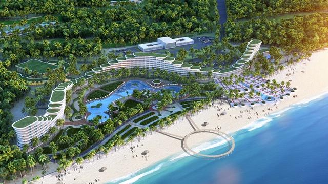 Khách sạn dài nhất và có thiết kế kiến trúc độc đáo nhất Việt Nam – FLC Luxury Hotel Quy Nhơn