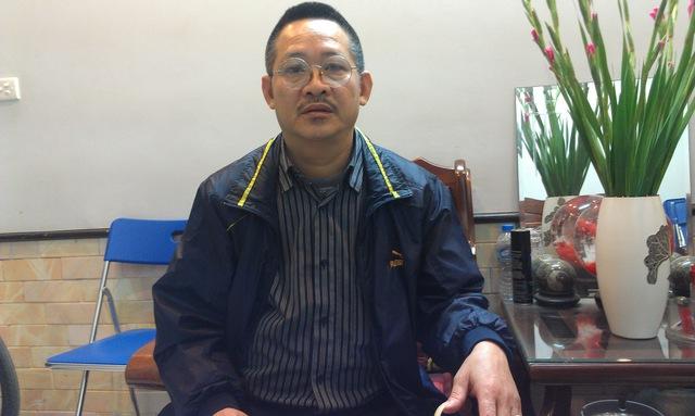 Nhà ngoại cảm Nguyễn Văn Ngọc (Bộ môn dự báo, Trung tâm nghiên cứu tiềm năng con người).