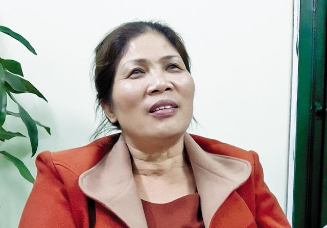 Chị Nguyễn Thị Thuận. Ảnh:Đ.A