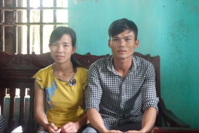 Vợ chồng anh Thanh - chị Hà. Ảnh: Ngọc Hưng