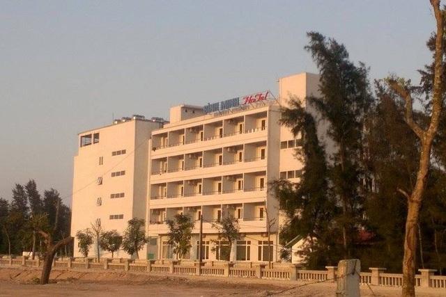 Khách sạn Bình Minh - nơi du khách phản ánh mất đồ. Ảnh:GH