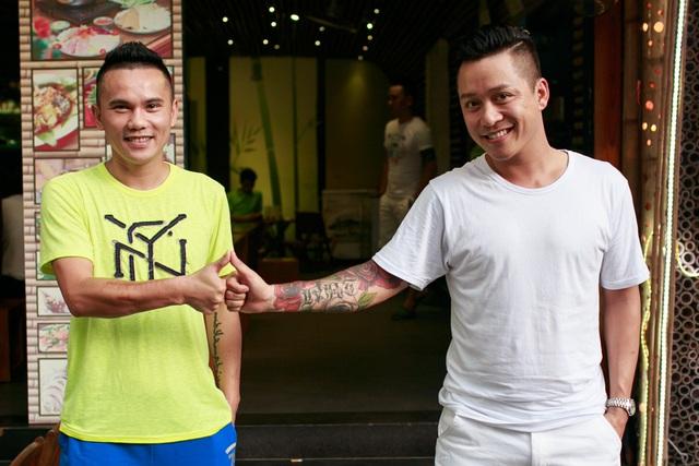 Tình bạn của Tú Dưa với Tuấn Hưng khiến nhiều người hâm mộ.