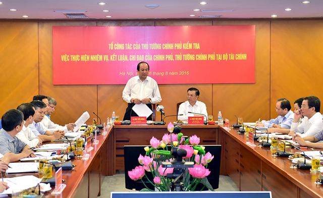 Tổ công tác của Thủ tướng được thành lập để góp phần nâng cao ý thức công vụ tại các đơn vị, địa phương. Ảnh minh họa CP.