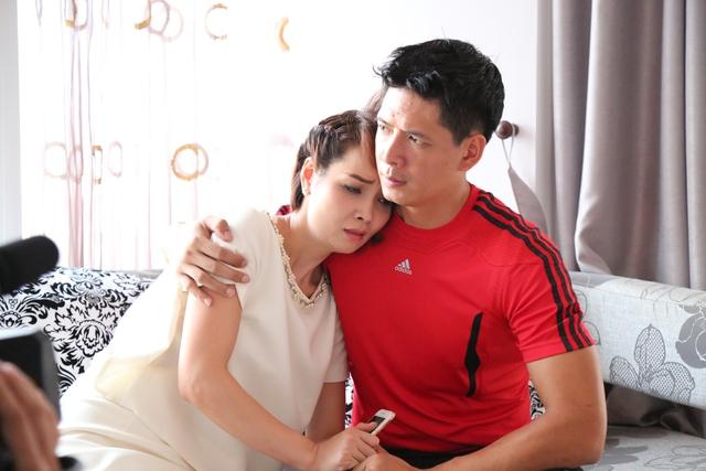 """Diễn viên Mai Thu Huyền và Bình Minh trong phim """"Những ngọn nến trong đêm"""" phần 2. Ảnh: TL"""