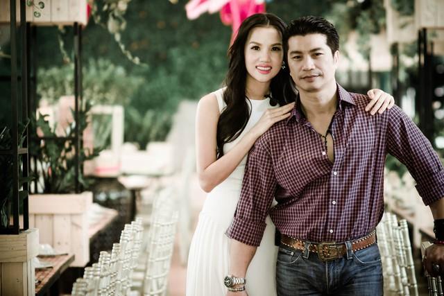 Vợ chồng đạo diễn Dustin Nguyễn - Bebe Phạm (ảnh nhân vật cung cấp).