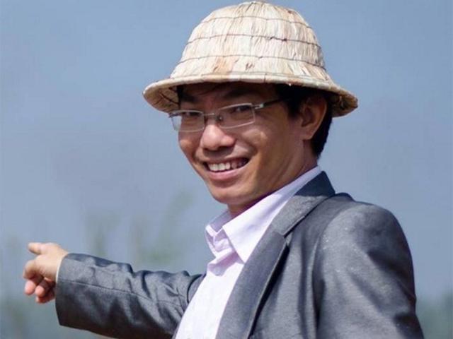 Tác giả Nguyễn Huy Hoàng.