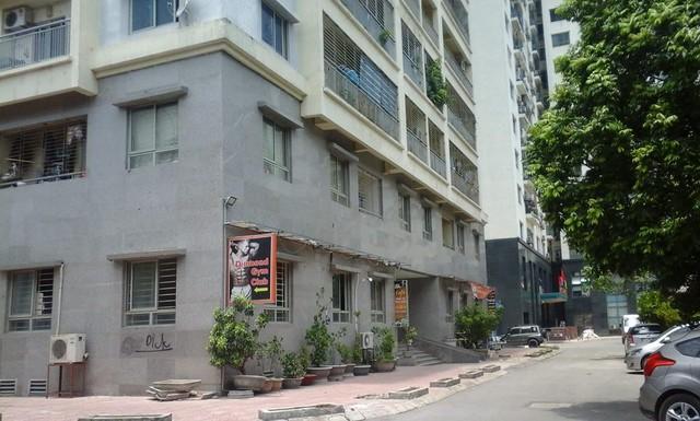 Chung cư A3, số 151 Nguyễn Đức Cảnh, phường Tương Mai, quận Hoàng Mai, Hà Nội. Ảnh: Cao Tuân