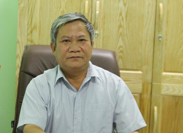 Ông Nguyễn Văn Tiệu, Bí thư Huyện ủy Võ Nhai.