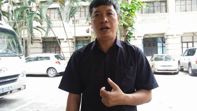Ông Hồ Quang Bửu, Chủ tịch UBND huyện Nam Trà My, tỉnh Quảng Nam.