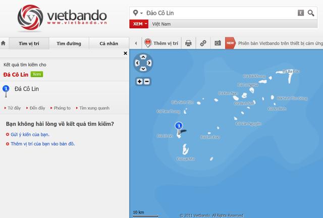 Nhưng lại thể hiện rất chi tiết và đẩy đủ trên những ứng dụng bản đồ khác (như vietbando.vn...)