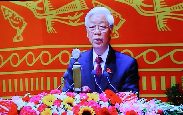 Theo báo cáo do Tổng Bí thư Nguyễn Phú Trọng trình bày, 5 năm tới tranh chấp lãnh thổ, chủ quyền biển, đảo trong khu vực và trên Biển Đông tiếp tục diễn ra gay gắt. Ảnh C.T