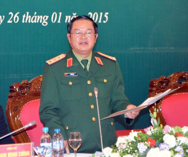 Đại tướng Đỗ Bá Tỵ nhận được 459 phiếu bầu, chiếm tỷ lệ 92% của đại biểu Quốc hội. Ảnh Báo Quảng Ninh