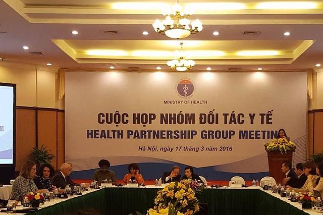Cuộc họp Nhóm Đối tác Y tế lần này có ý nghĩa quan trọng đối với ngành y tế. Ảnh: SK