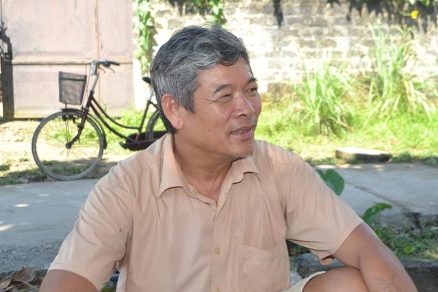 Ông Nguyễn Ngọc Tường chia sẻ với PV Báo Gia đình & Xã hội. Ảnh: Đ. Tuỳ