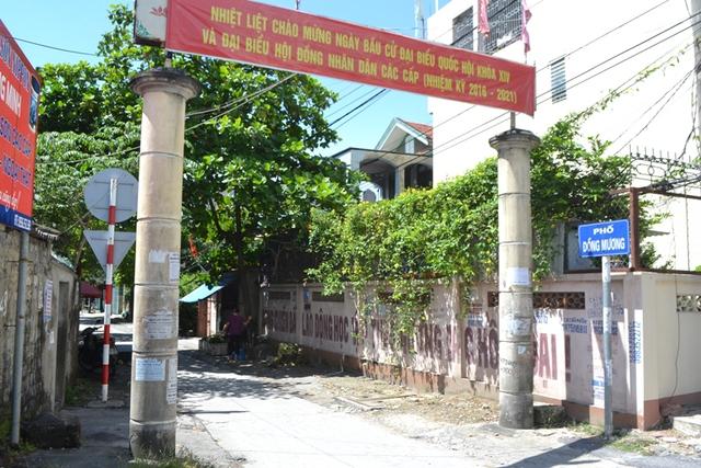 Khu phố Đồng Mương, nơi gia đình đối tượng Doãn Trung Dũng sinh sống. Ảnh: Đ. Tuỳ