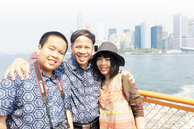 Yêu thương cha mẹ, chia sẻ với bạn bè chính là cách để Nhật Nam cân bằng cho cuộc sống của mình (ảnh do nhân vật cung cấp).