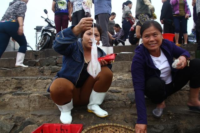 Việc cá, tôm chết hàng loạt ở biển miền Trung không ảnh hưởng đến việc khai thác và tiêu thụ hải sản ở Cửa Lò.