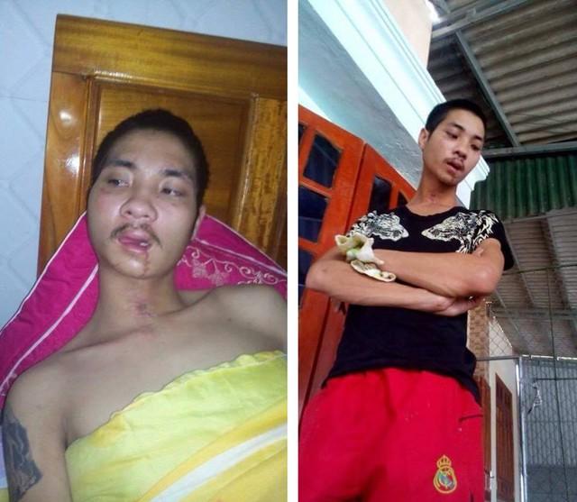 Hình ảnh con trai ông Sơn là Nguyễn Hữu Vũ trước khi bị thất lạc.