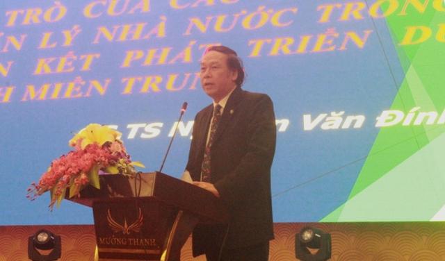 Đồng chí Nguyễn Văn Tuấn - Tổng Cục Tổng Cục Du lịch - Bộ Văn hóa Thể thao và Du lịch phát biểu.