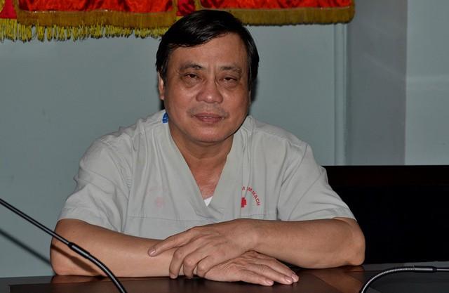 Bác sĩ Nguyễn Công Hoá - Phó Giám đốc Bệnh viện Đa khoa Thái Bình. Ảnh: Đ.Tuỳ