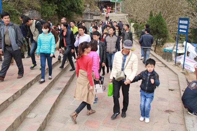 Hội xuân Yên Tử sẽ kéo dài đến hết tháng 3 âm lịch.