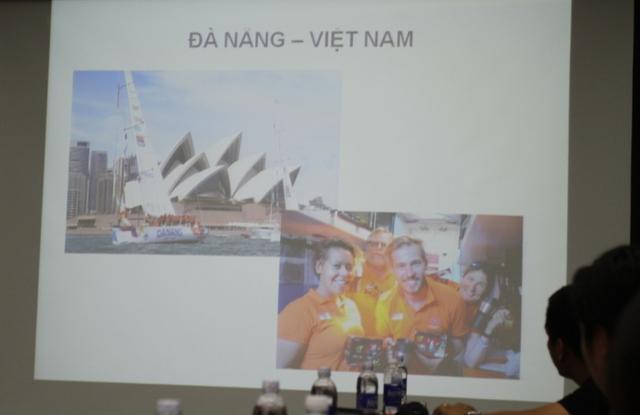 Đội Đà Nẵng - Việt Nam đang ở vị trí thứ 6. Ảnh Đức Hoàng