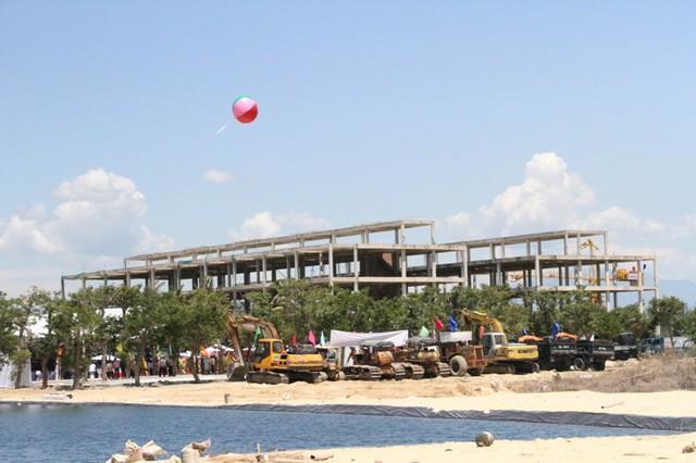 Siêu dự án tổ hợp du lịch – giải trí Cocobay Đà Nẵng chính thức khởi công. Ảnh: Đức Hoàng
