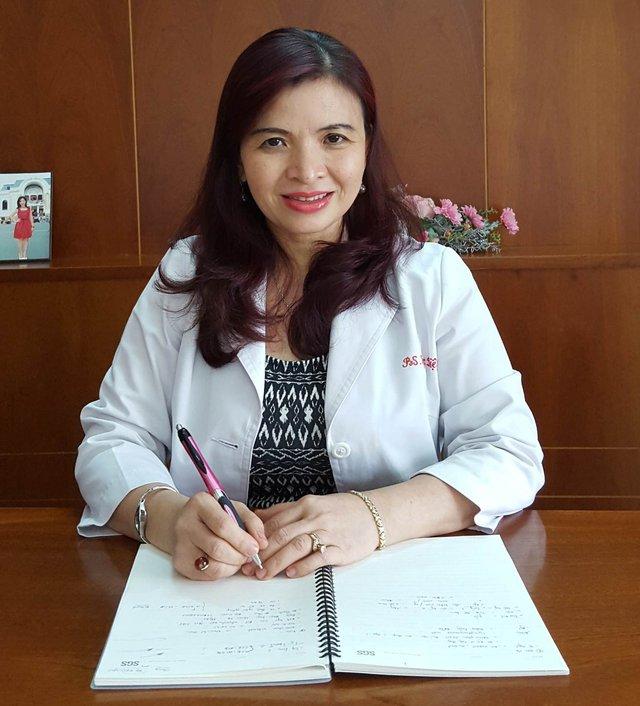 Bác sĩ Đỗ Thị Ngọc Diệp (Giám đốc Trung tâm Dinh dưỡng TPHCM)