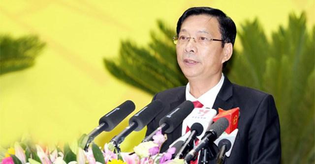 Ông Nguyễn Văn Đọc, Bí thư Tỉnh ủy Quảng Ninh.