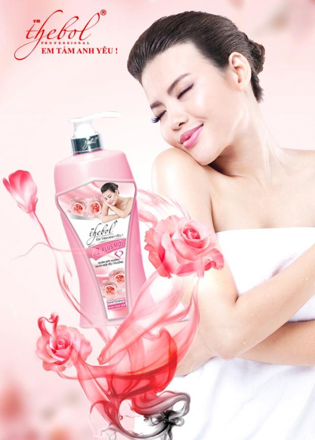 """Sữa tắm thảo dược Thebol 2Plus – """"Nhân đôi hương – Nhân đôi yêu thương"""""""