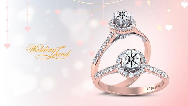 Cầu hôn nàng trong dịp này, DOJI dành tặng 22% giá trị sản phẩm từ ngày 23/7 tới ngày 31/7.