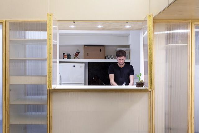 Với thiết kế mới, các thành viên trong nhà có thêm sự gắn kết khi các không gian có thể liên thông.