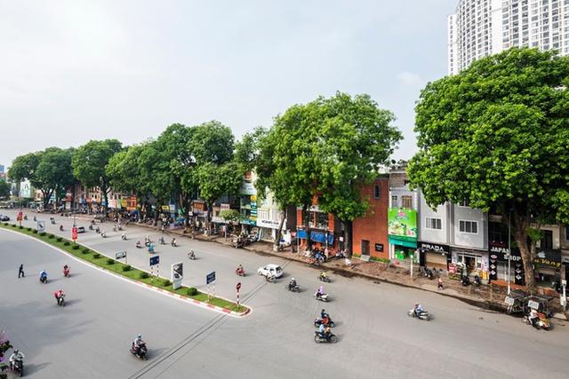Nằm trên con đường đông đúc ở quận Đống Đa (Hà Nội), tòa nhà trưng bày sản phẩm của một công ty thu hút bởi kiến trúc khác lạ nhưng vẫn hài hòa với cảnh quan khu phố. Các bức tường bao quanh nhà được xây bằng những viên gạch thông gió dạng đất nung đỏ.