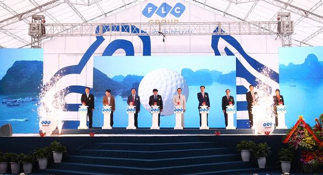 Chiều 20/3, FLC Hạ Long chính thức khởi công.