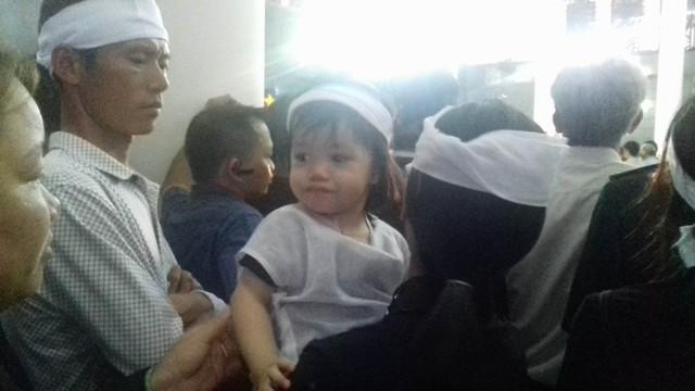 Con gái lớn chiến sỹ Lê Văn Đình
