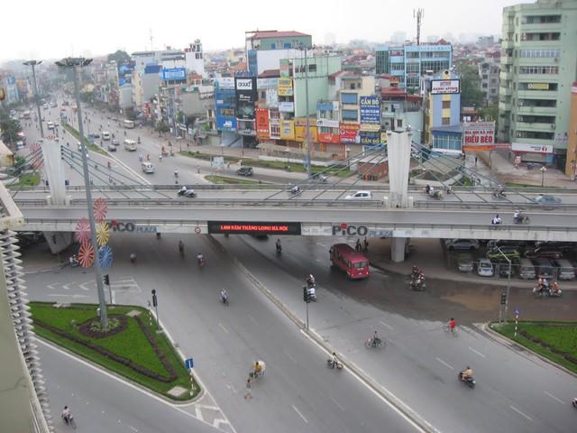 Tuyến đường bộ trên cao Vĩnh Tuy - Ngã Tư Sở đang trong giai đoạn nghiên cứu, báo cáo Chính phủ. Ảnh TL