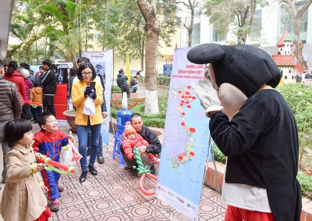 Nhiều hoạt động xung quanh sự kiện dành cho các bé và gia đình có con mắc bệnh hiếm.