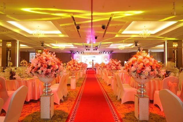 Mỗi sảnh tiệc có thể đáp ứng các sự kiện với sức chứa từ 100 – 1.200 người