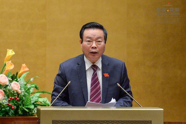 Ông Phùng Quốc Hiển nhận được 433 phiếu bầu, chiếm tỷ lệ 87%. Ảnh quochoi.vn