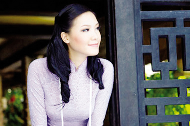 Hoa hậu Thùy Dung . Ảnh: TL