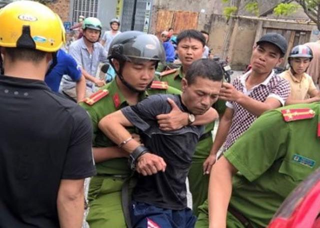 Đối tượng Nguyễn Văn Tuấn bị khởi tố tội danh giết người. Ảnh: M. Chung