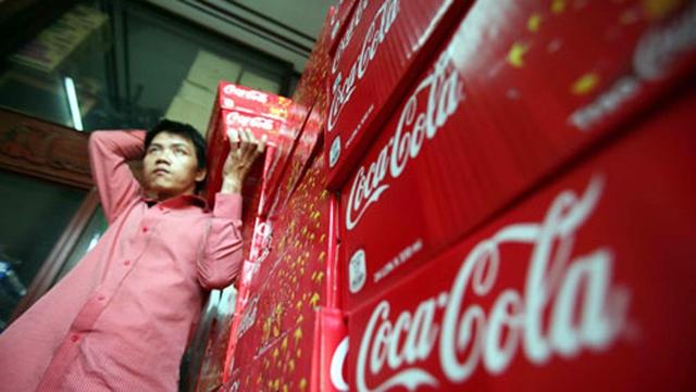 Coca Cola Việt Nam bị phạt tổng số tiền là 433.688.000 đồng (ảnh tư liệu)