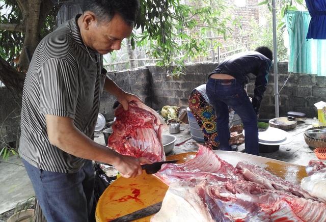 Thực phẩm quê, chuẩn bị được gửi ra Hà Nội