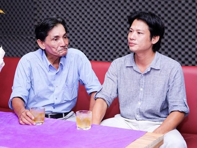 Thương Tín và con trai Thanh Tùng