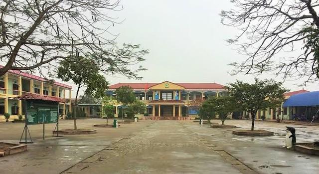 Trường tiểu học Đặng Cương.