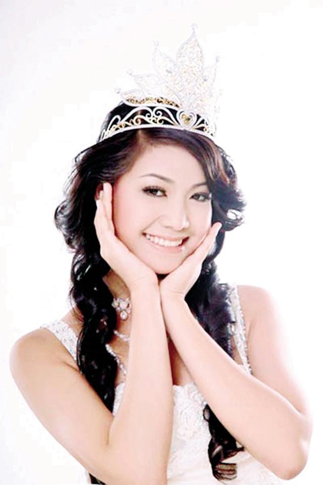 Hoa hậu Trần Thị Thùy Dung. Ảnh: T.L